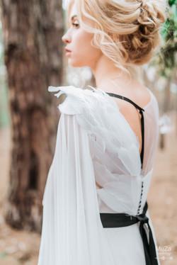 самое необычное свадебное платье