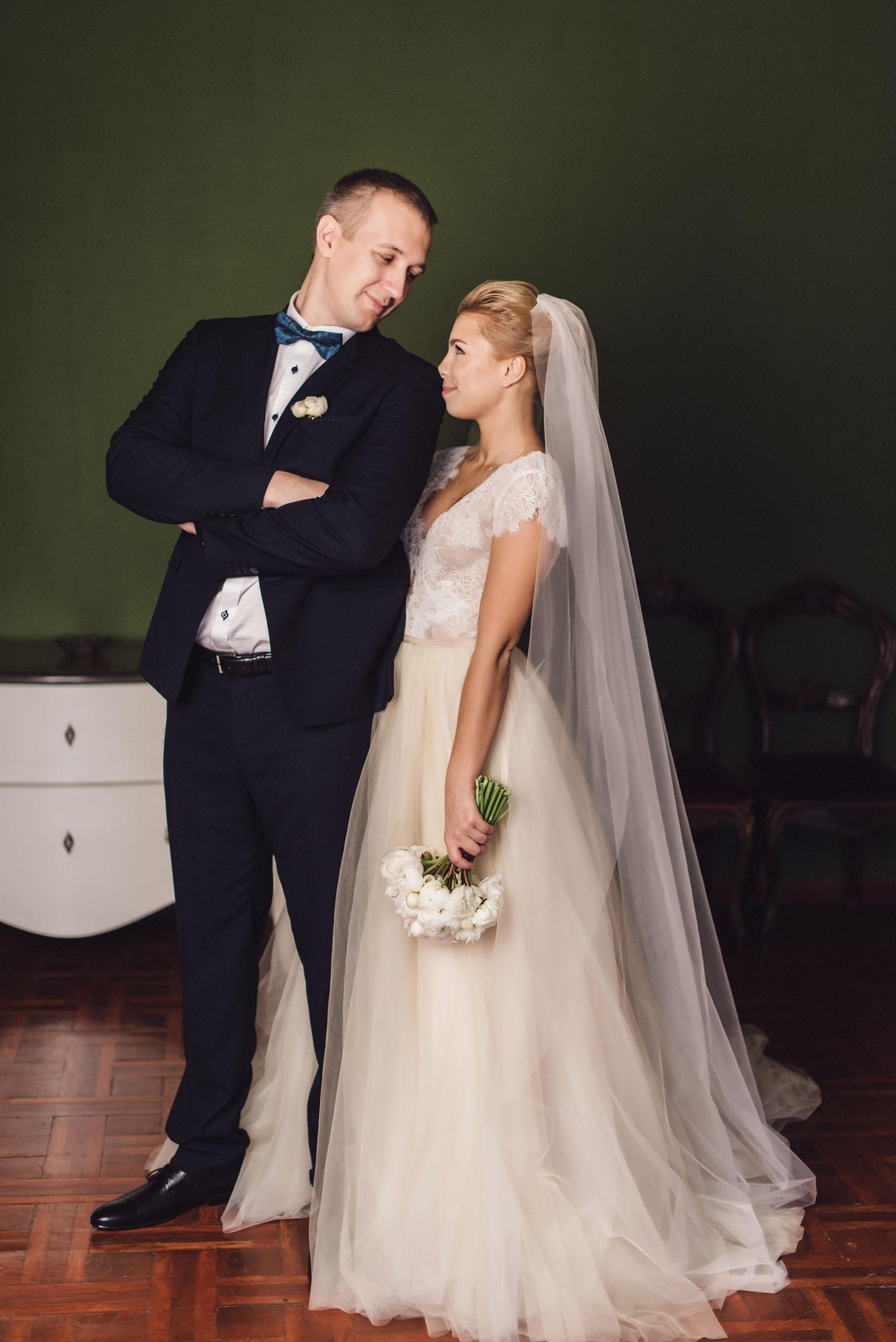 свадебная фотосессия Анны и Сергея