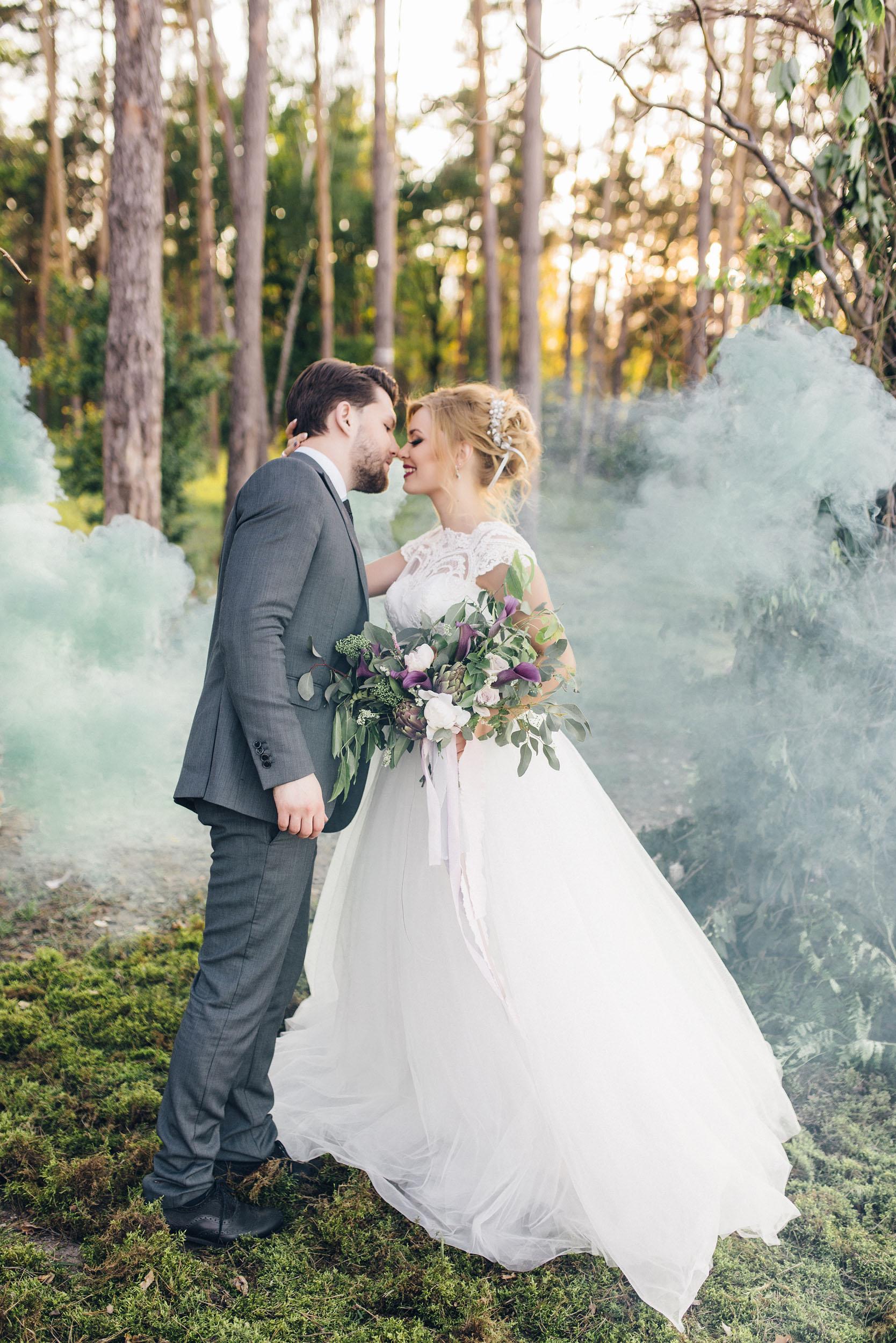 фотосессия с дымом, дымовая шашка
