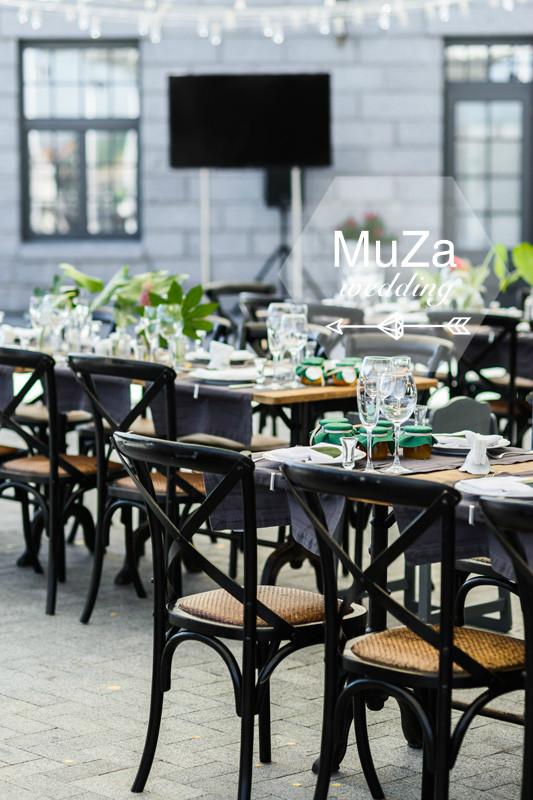 MuZa-wedding, расстановка столов на свадьбе. Организация свадьбы Киев.