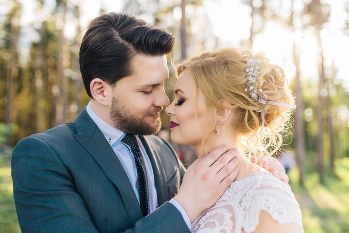 Идеальные позы для свадебной фотосессии