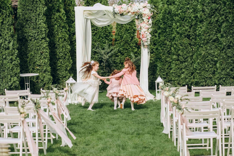 классическая свадебная церемония