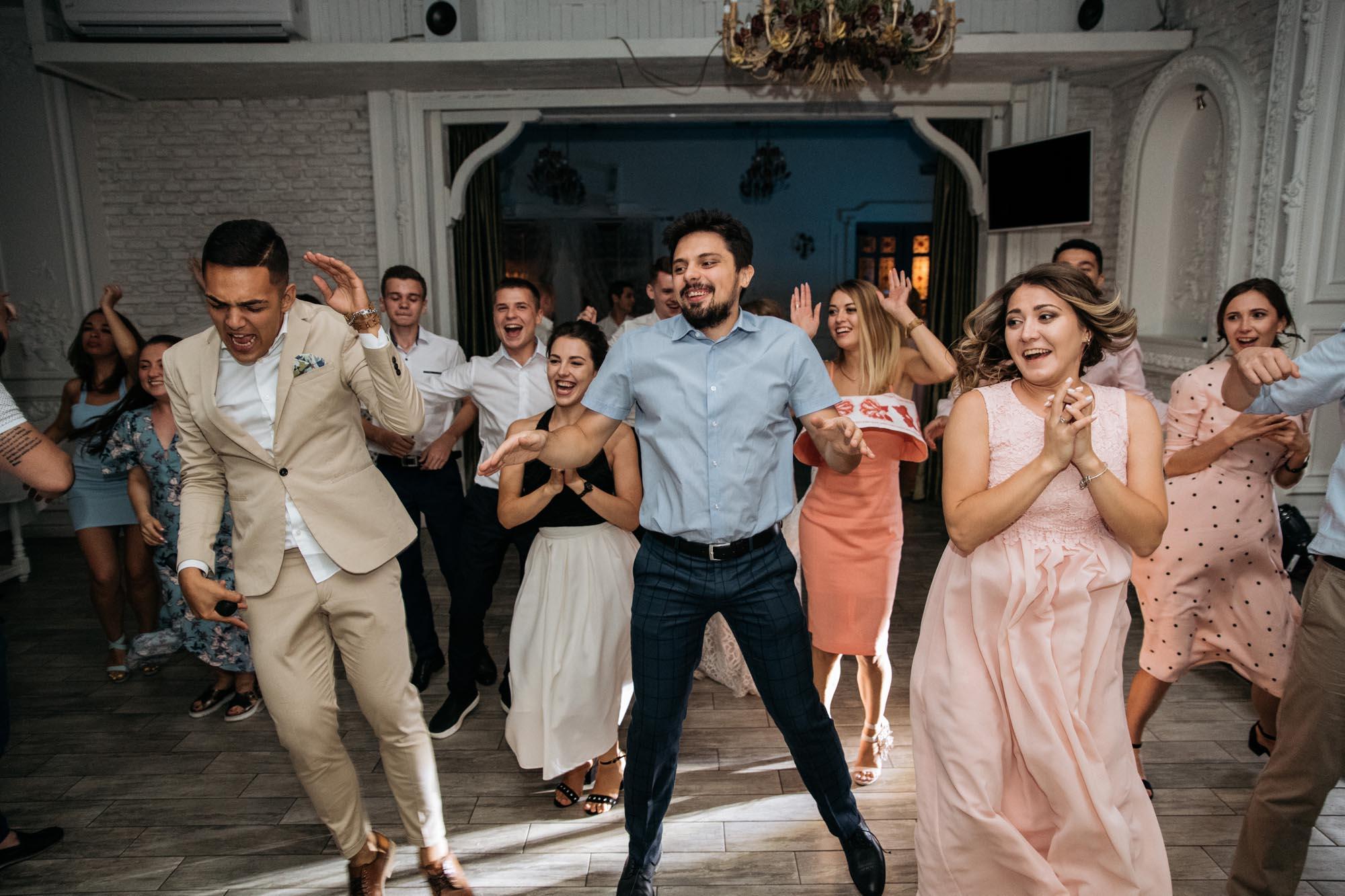 танцевальный флешмоб на свадьбе Киев
