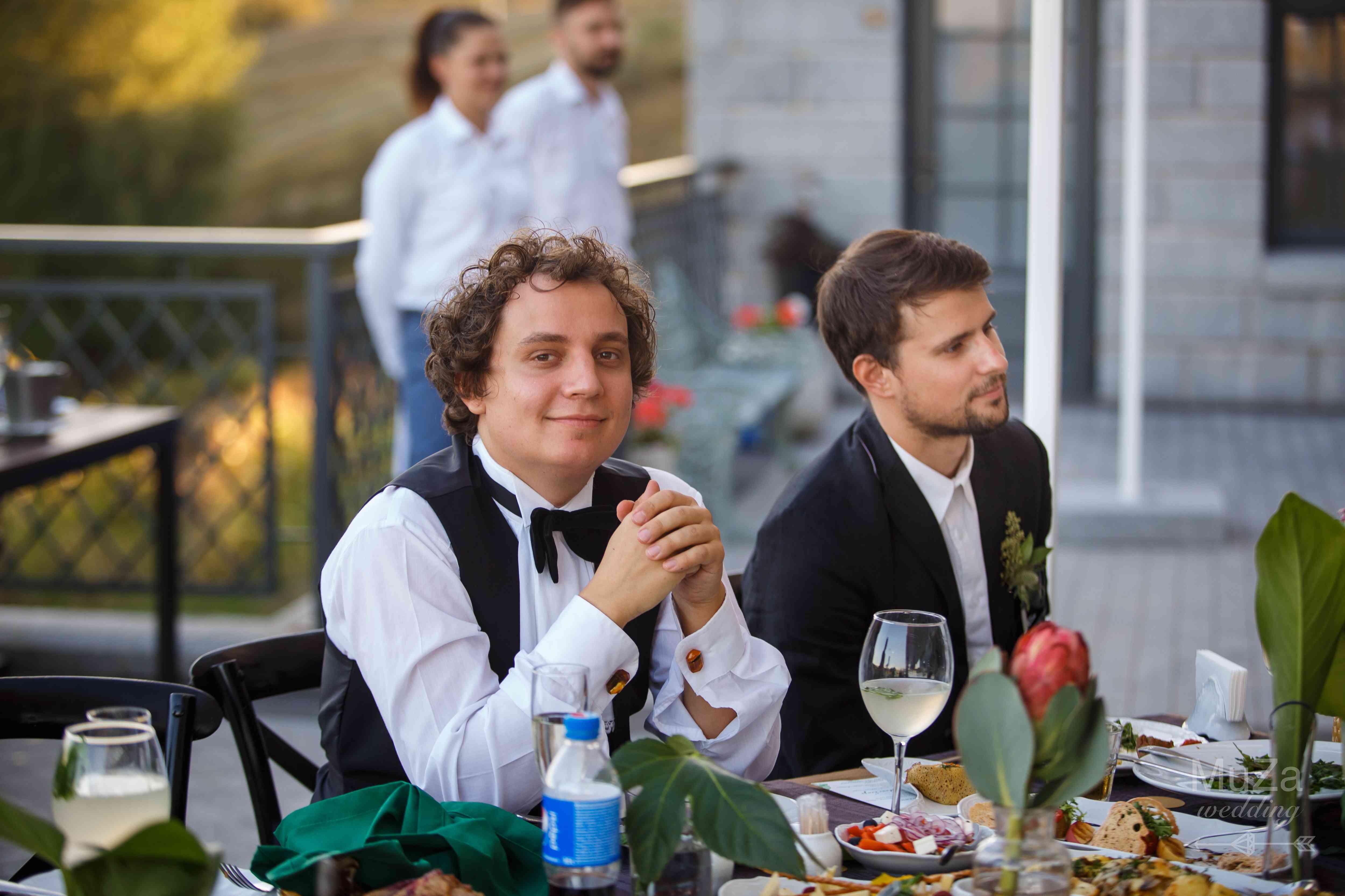 свадебный банкет, застолье, Киев