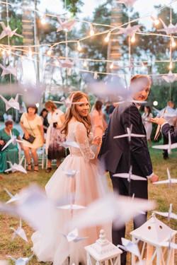 идеи вечерней свадебной церемонии