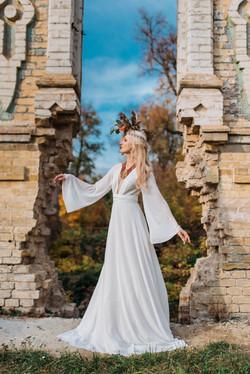невеста, стиль бохо, элементы этно