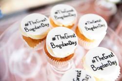 #TheGreatBogdanDay хэштег на капкейк