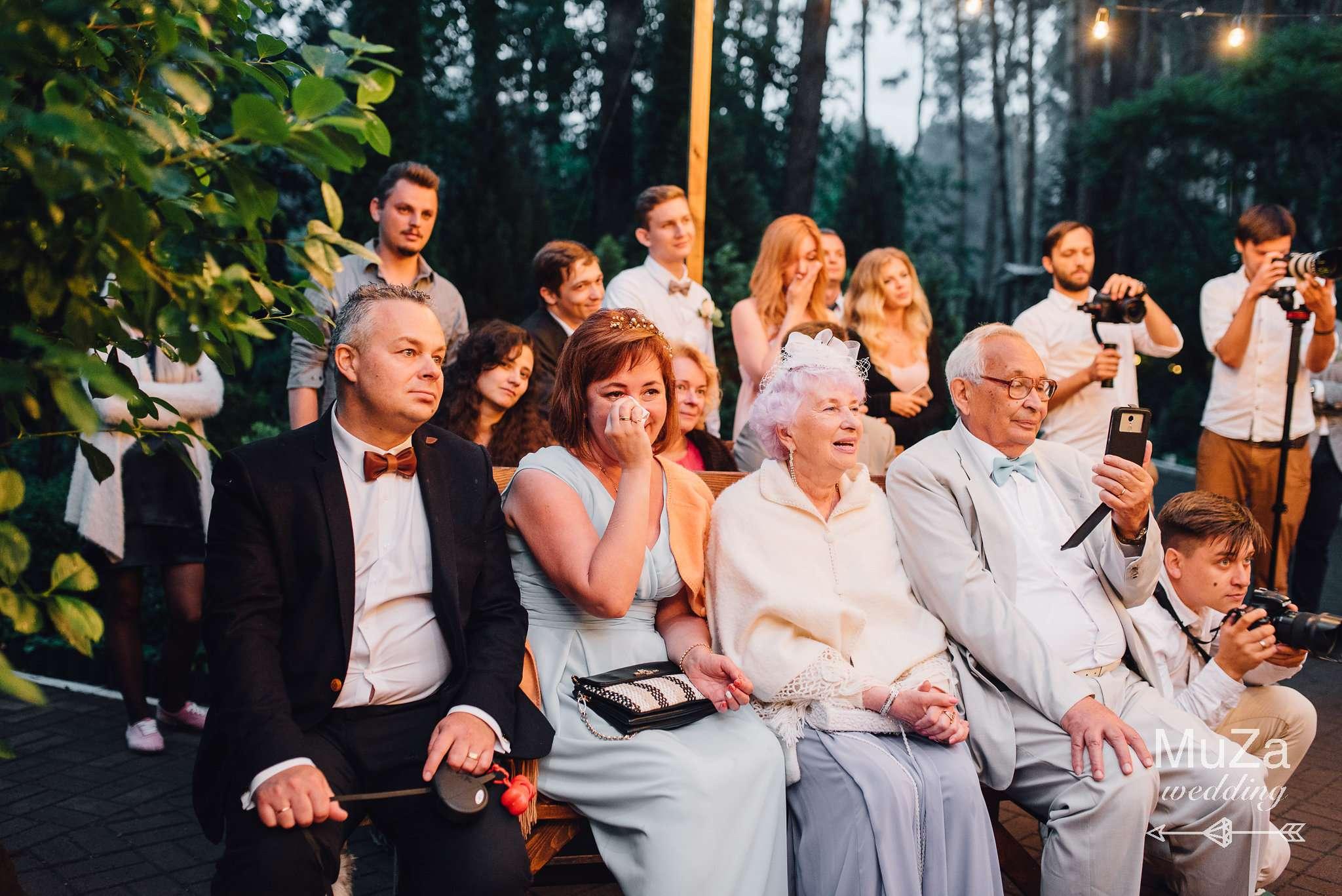 трогательные эмоции на церемонии