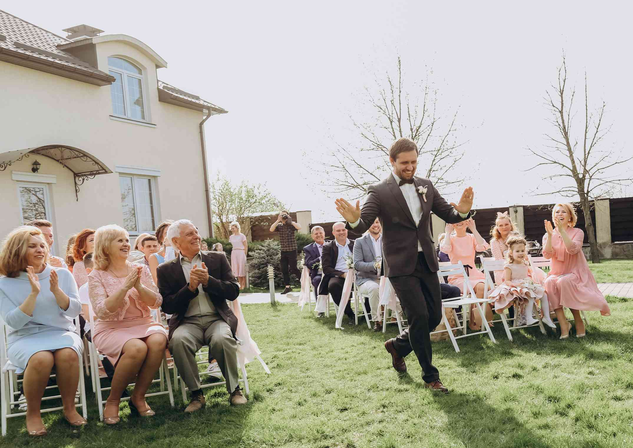 свадебная церемония появление жениха
