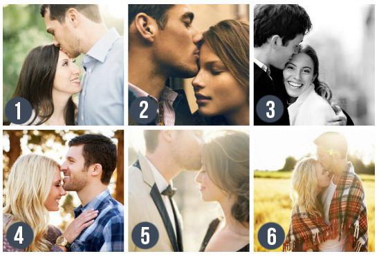 Поза для свадебной фотосессии - Поцелуй в лоб. Такое фото передаст всю глубину чувств, нежность и заботу. Блог свадебного агентства MuZa-wedding