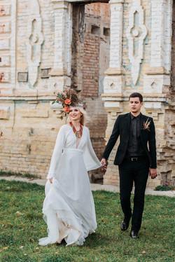 свадьба, украинские этнические нотки