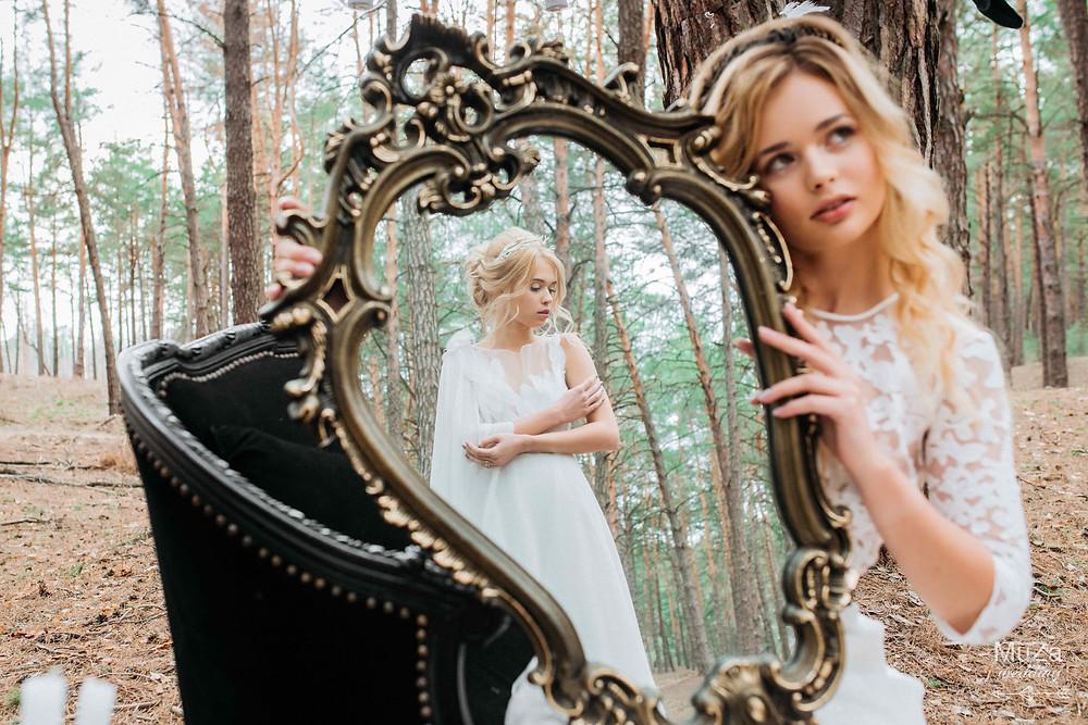 """Фотопроект """"Пробуждение"""": фотосессия, нежные романтические образы невест,  закзать услуги стилиста для фотосессии в Киеве, заказать организацию стильной тематической фотосессии пары от свадебного агентства MuZa-wedding"""