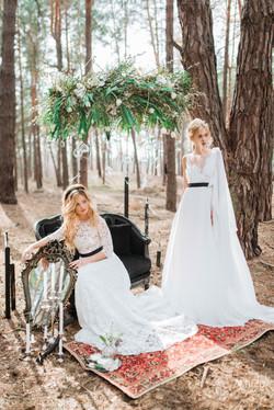 невесты - лесные нимфы, MuZa-wedding