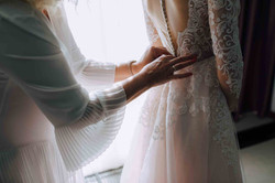 лучший помощник невесты - мама