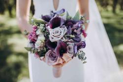букет невесты, роза, кала, орхидея