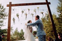 свадьба в стиле рустик растик
