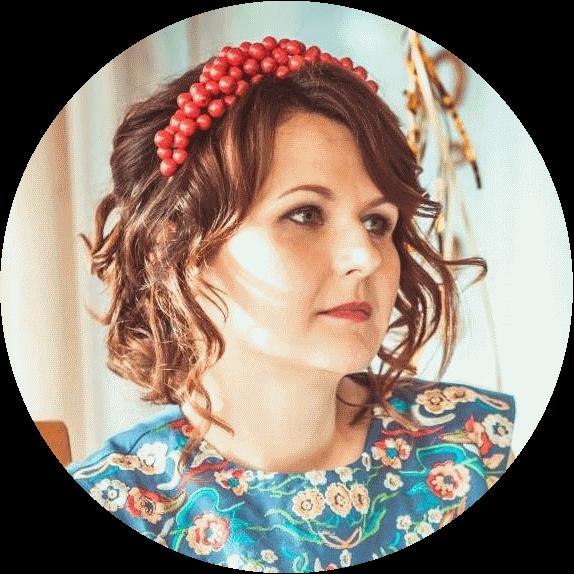 """Анна Кучинская,  ведущий стилист территории красоты """"SHIKI"""", свадебный парикмахер, Киев"""