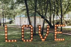 буквы LOVE на свадьбу, аренда, Киев