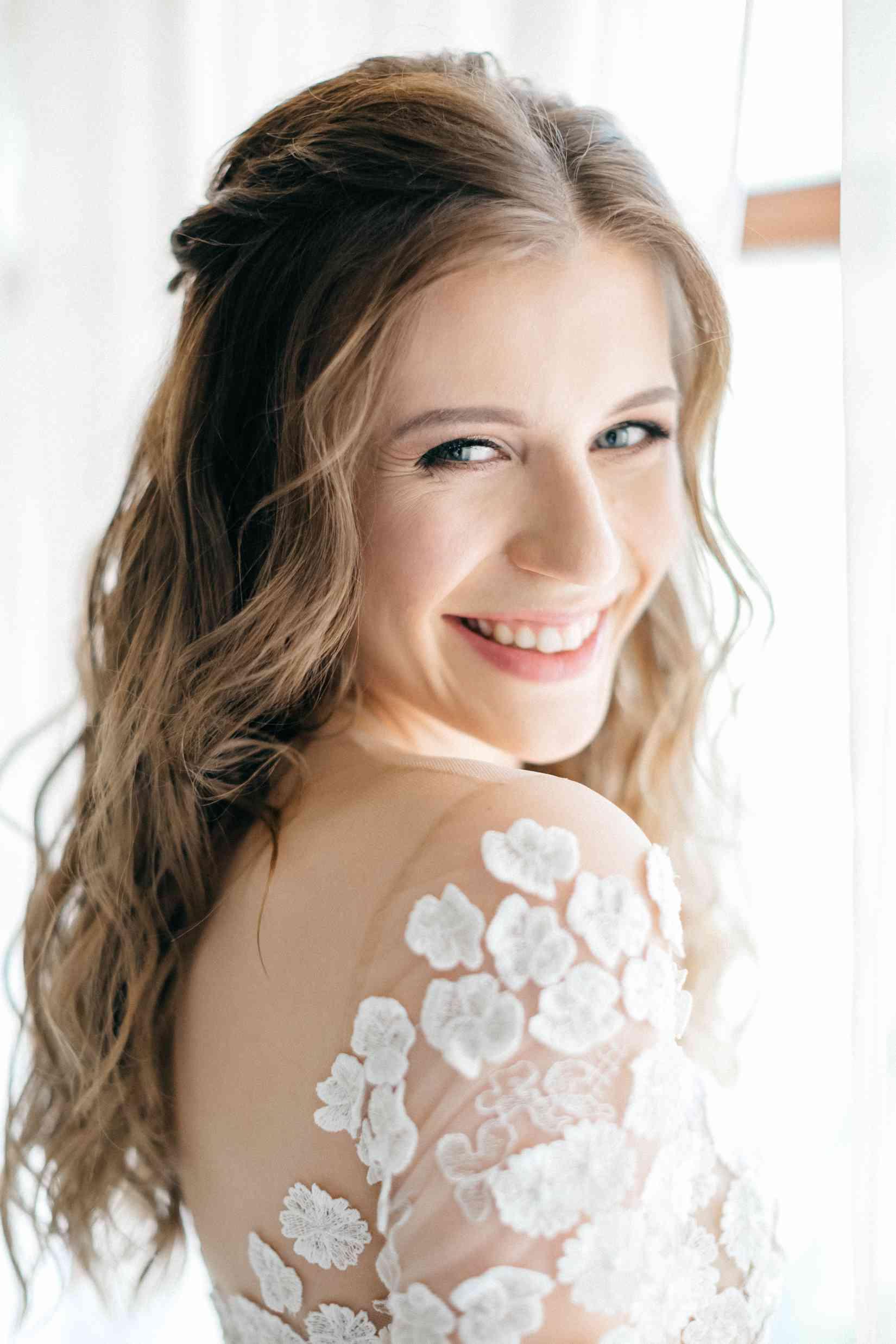 портрет невесты, свадебное агентство