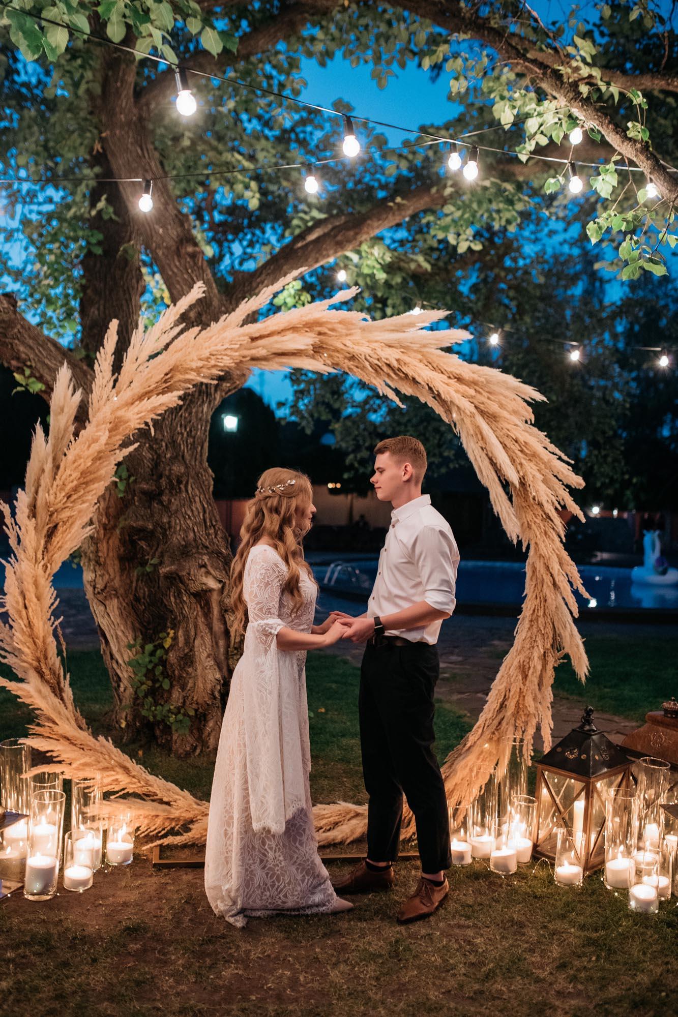 круглая свадебная арка идеи Киев