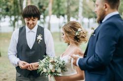 обмен кольцами, церемония, свадьба
