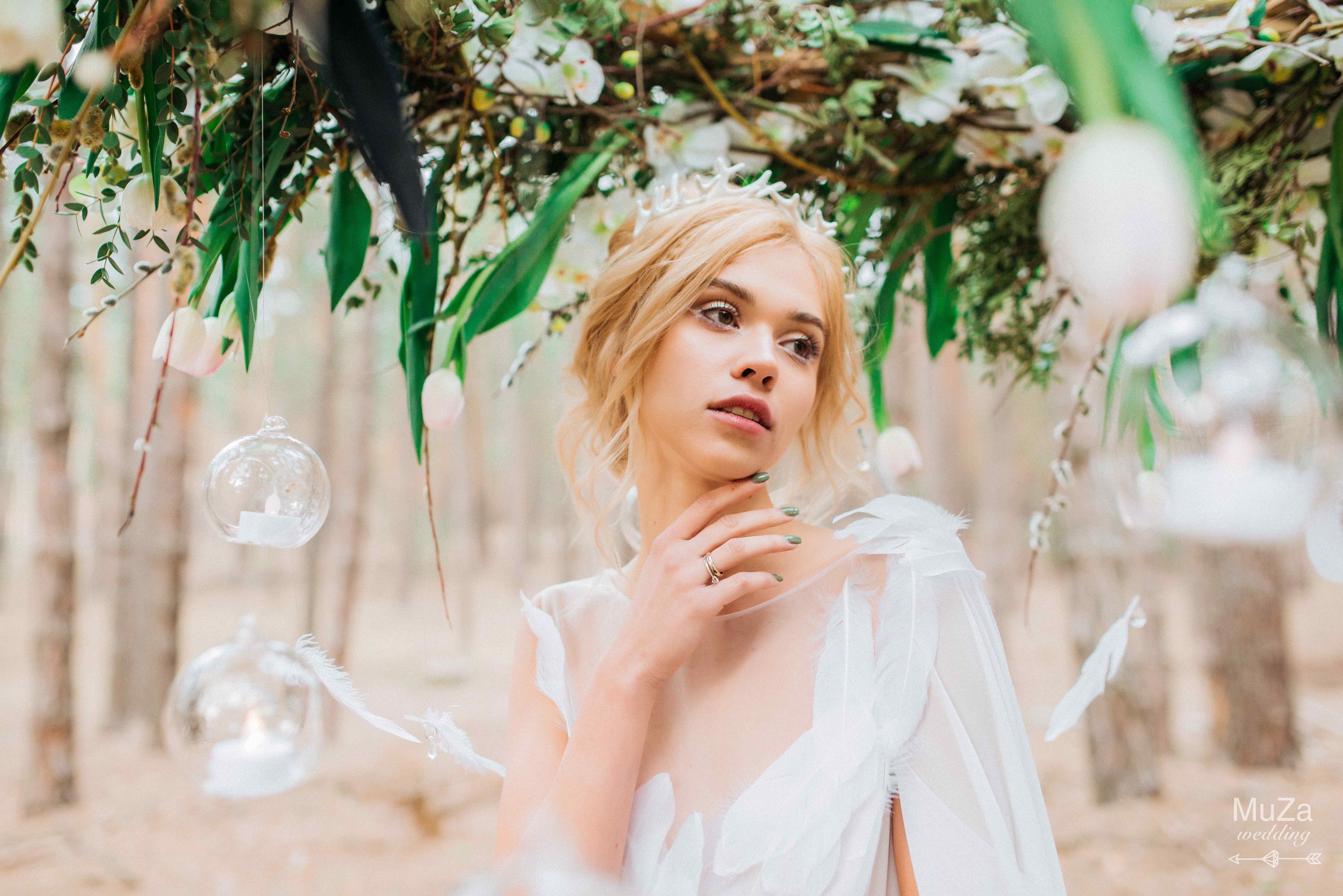 сказочный образ невесты нимфа