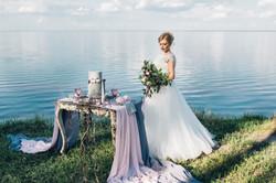 Свадебная декорированная фотосессия