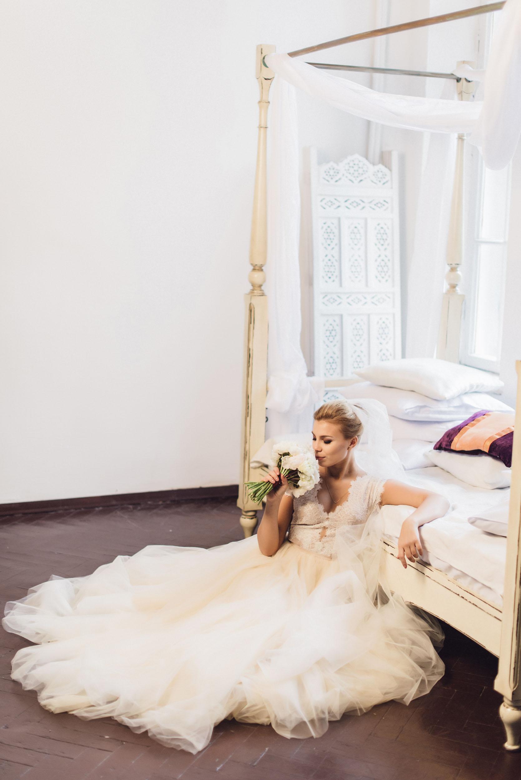 утро невесты, образ невесты