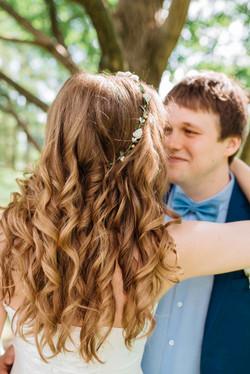 красивая прическа невесты, свадьба