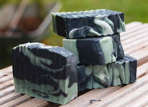 Activated Charcoal with Tea Tree and Eucalyptus Essential Oils