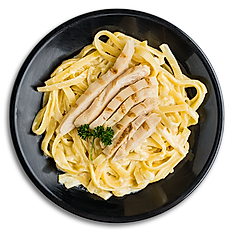 Fettuccini Alfredo with Grilled Chicken