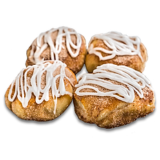 Cinnamon Knots with Frosting