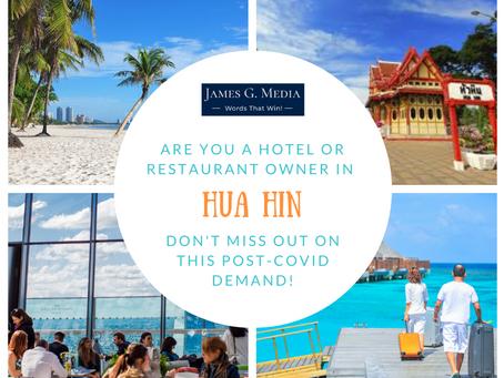 Hua Hin #2 on the Domestic Travel Wish List!
