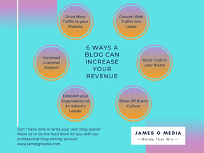 6 Ways a Blog Can Increase Your Revenue