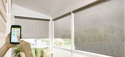 Outdoor Shades Controlled By An App