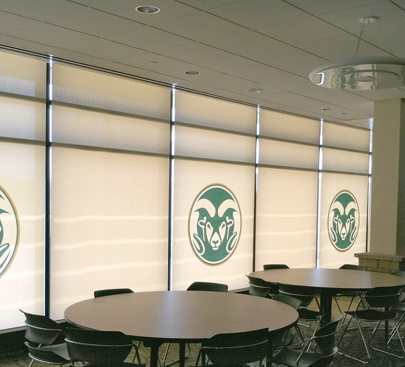 Custom Printed Interior Office Shades