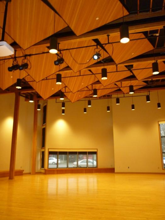 Rainforest Arts Center Interior