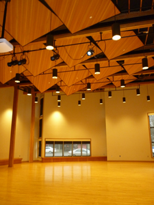 Rainforest Arts Center Interior