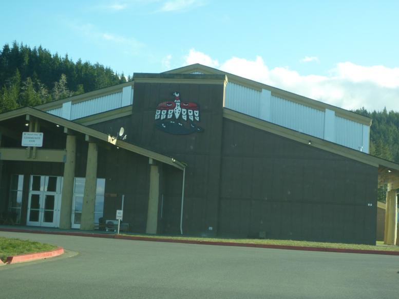 Makah Community Gym Exterior