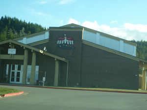 Makah Community Gym Exterior