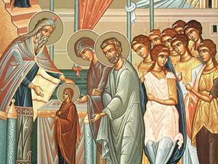 На 21-ви ноември православната църква отбеляза Въведение Богородично, празник на християнското семей