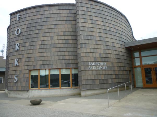 Rainforest Arts Center Exterior
