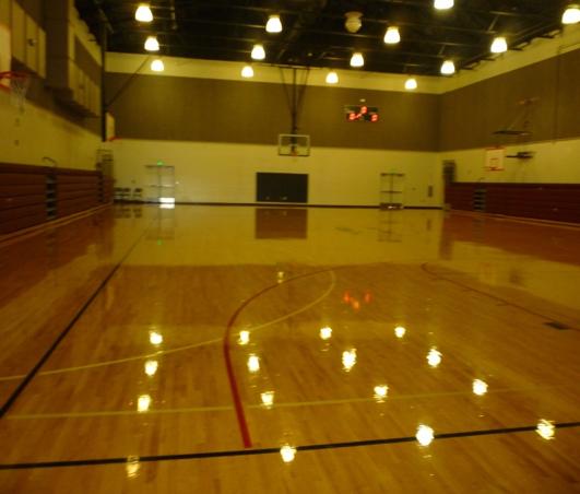 Makah Community Gym Interior