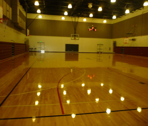 Makah Community Gym Interior