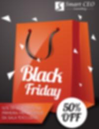 #BlackFriday: 50% de Desconto na 1º mensalidade da Sala Exclusiva