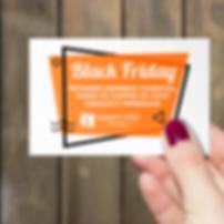 #BlackFriday: Fechando o Plano de Endereço Comercial, ganhe os cartões de visita (Criação e Impressão)