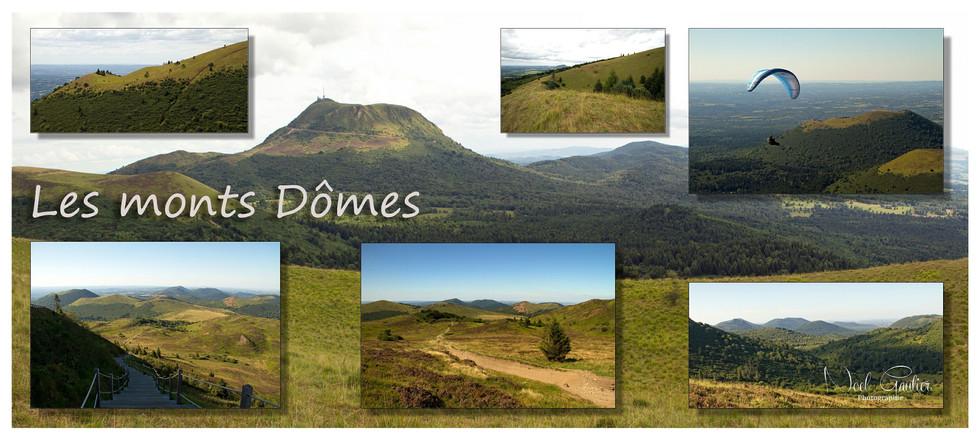 Carte postale du Puy-de-Dôme