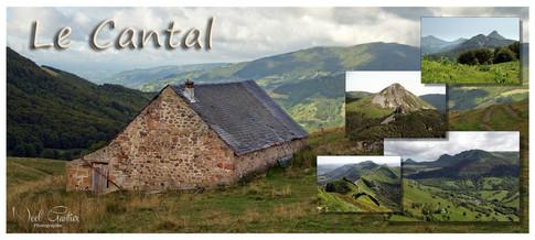 Carte postale du Cantal