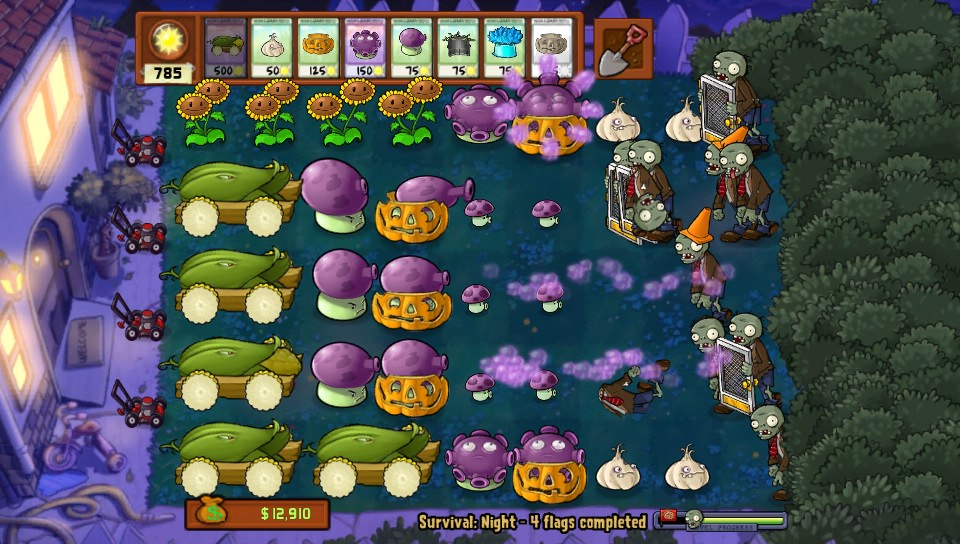 Plants vs  Zombies | Review and Screenshots (PS Vita)