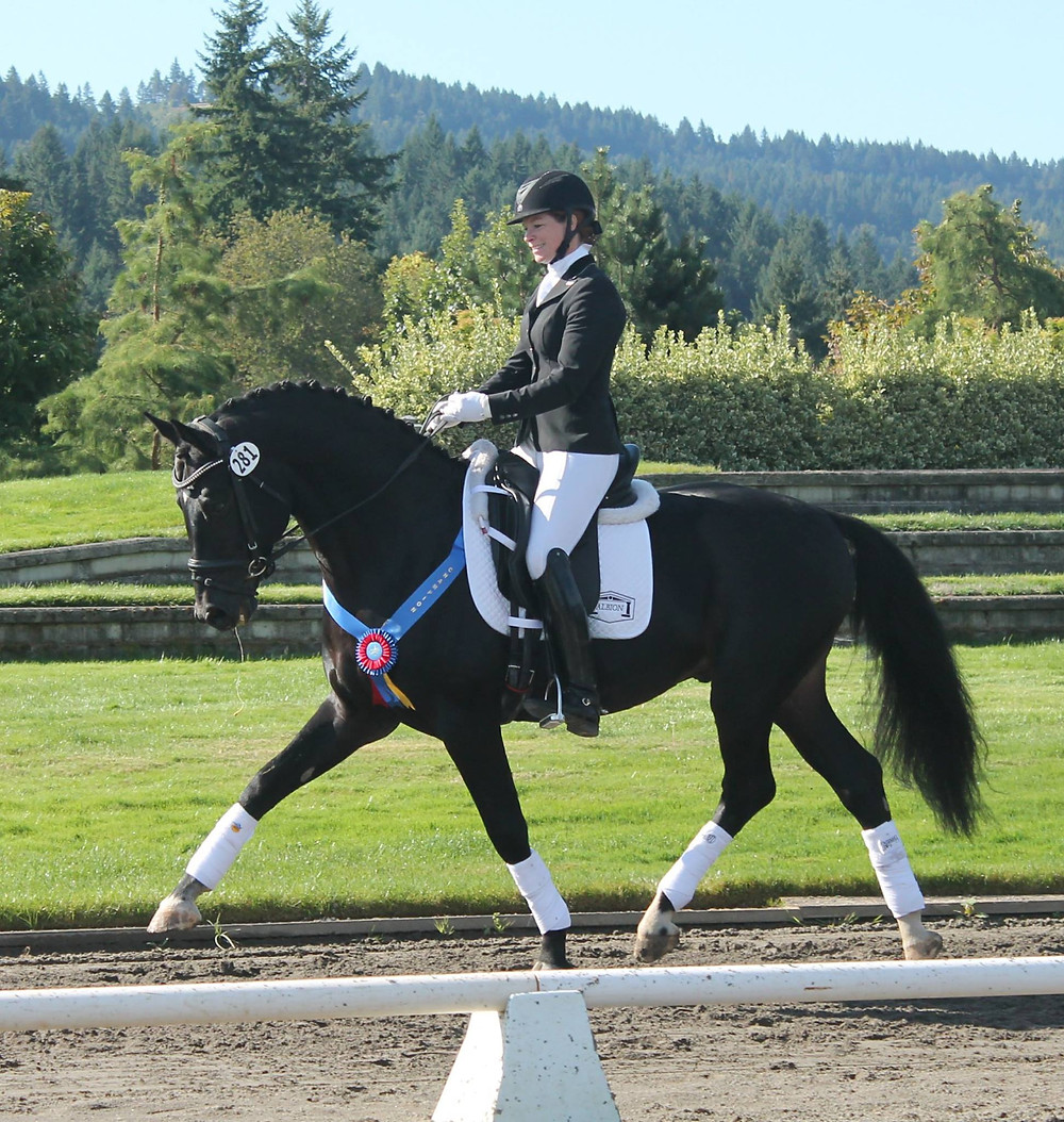 Dressage TrainerJessica Wisdom on Diamondhead